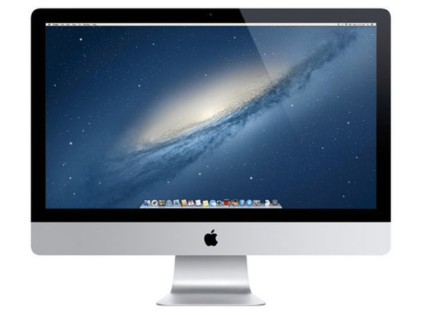 "苹果iMac 27""Core i5 2012,8GB RAM 1TB HDD-银色(翻新)"