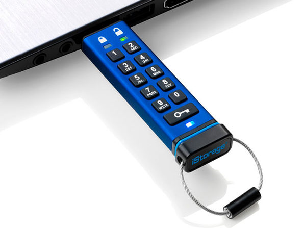 datAshur® PRO 256-bit Encrypted USB 3.0 Flash Drive (128GB)