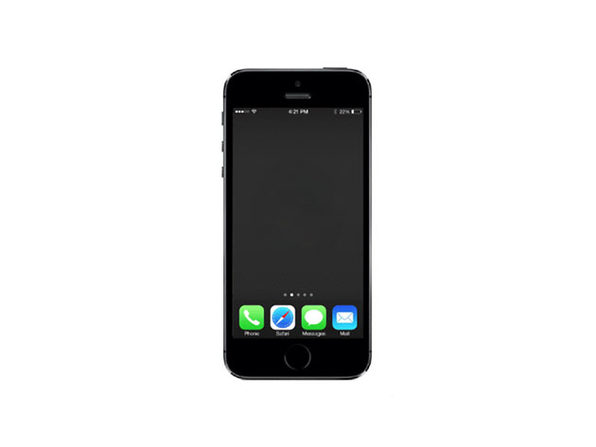 Refurbished iPhone 5s 16 GB Space Gray - Fair Condition - Product Image