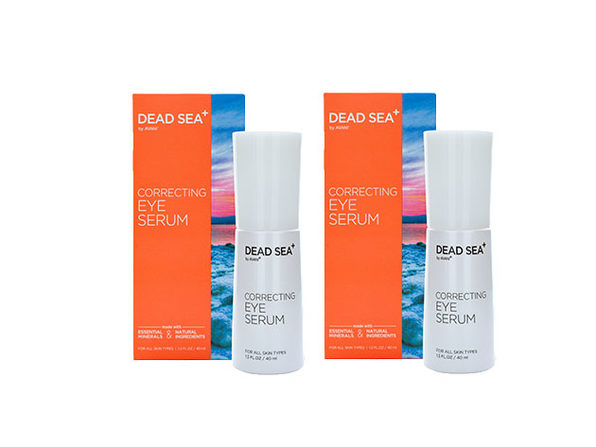 Dead Sea+: Correcting Eye Serum - 2 pack - Product Image