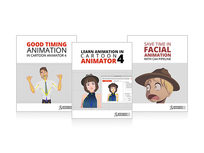 Cartoon Animator 4 Training 3-in-1 Bundle - Product Image