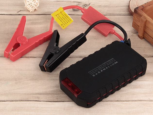 Kinkoo 10000mAh Car Jump Starter Power Bank