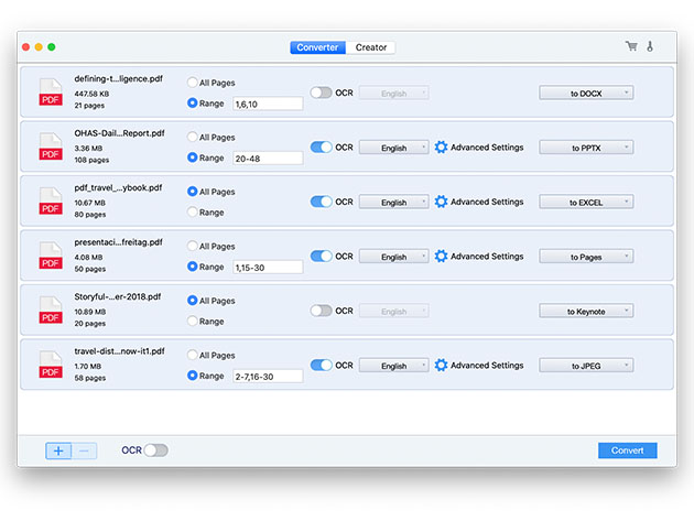 Stack Social Deal for Cisdem PDF Converter OCR: Lifetime Subscription (5 Macs)