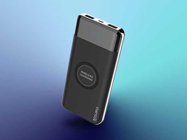 Powerup Wireless Charging 10,000mAh Dual USB Battery