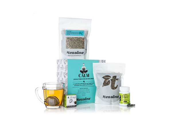 The 28-Day Stress Relief Regimen: 4-Piece Calm Kit