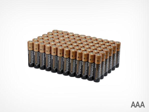 72 AAA Duracell Batteries  - Product Image