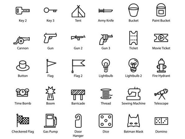 2,086 Icons - Product Image