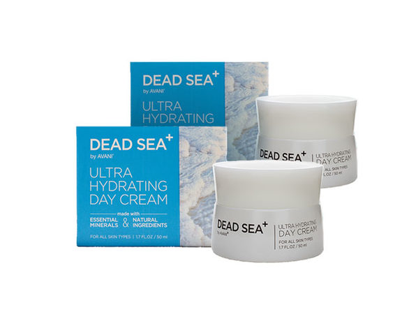 Dead Sea+: Ultra Hydrating Day Cream - 2 pack - Product Image
