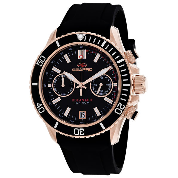 Seapro Men's Thrash Black Dial Watch - SP0333