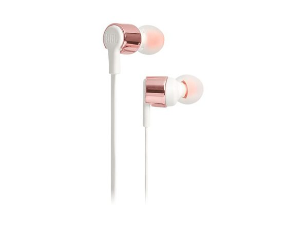 JBL TUNE 210 In-Ear Headphone with One-Button Remote/Microphone - Pink