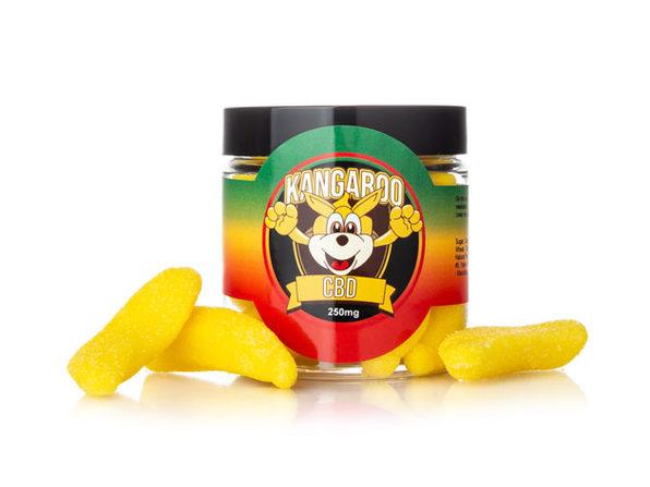 Kangaroo CBD Gummies- Banana 250 MG - Product Image