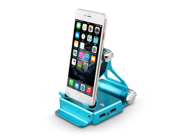Podium-Style Charging Stand - Blue