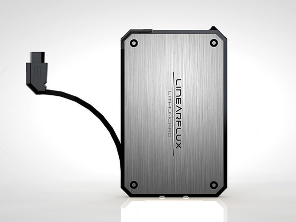 LithiumCard Wallet Battery (Silver/Micro-USB)