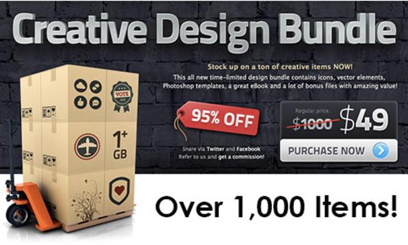The Creative Design Bundle - Product Image