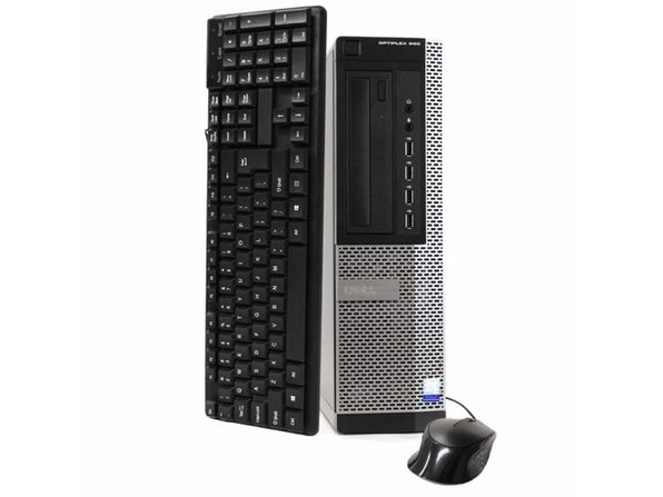Dell OptiPlex 990 Desktop PC, 3.2 GHz Intel i5 Quad Core Gen 2, 16GB DDR3 RAM, 1TB SATA HD, Windows 10 Home 64 Bit (Refurbished Grade B)