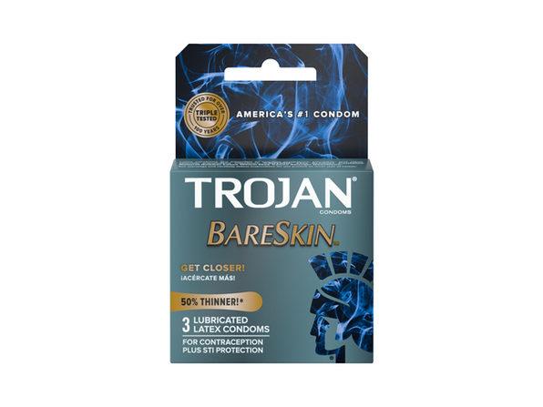 Trojan BareSkin Thinner Condoms (3pk) ---(Package Of 3) - Product Image