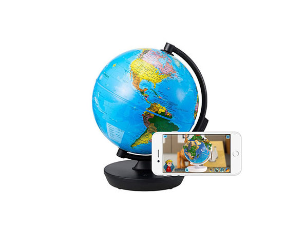 SmartGlobe 3-in-1 Illuminated Globe with Built-In Augmented Reality