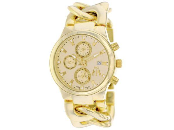 Jivago Women's Lev Gold Dial Watch - JV1222