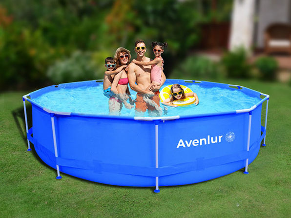 "Avenlur Inflatable Family Pool (12Ft x 30"")"