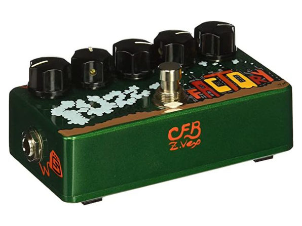Zvex Fuzz Factory Five Knob Fuzz Using Hand Painted & Assembled Effect Pedal (Used, Damaged Retail Box)