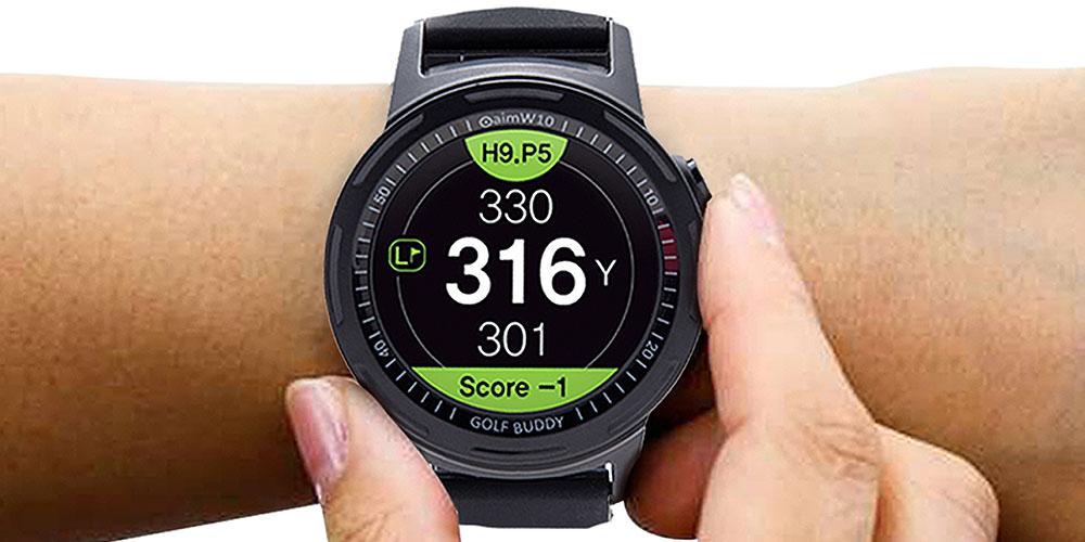 A golf watch.