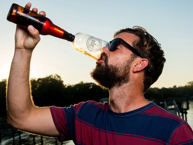 Shotgunning a can, sure. But bottles? With this tool you can!