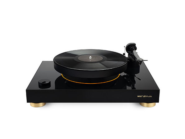 MAG-LEV ML1 Levitating Turntable (Black/Silver)