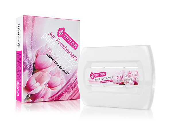 Triton Multi-Purpose Long-Lasting Air Freshener (White Orchid)