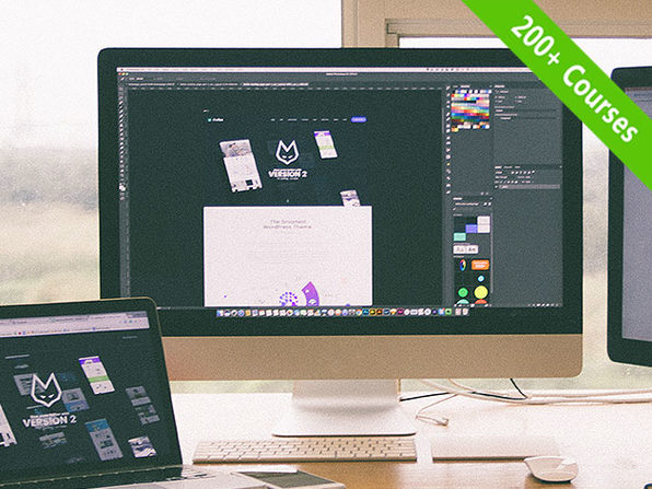 The eduCBA Design & Multimedia Lifetime Subscription Bundle