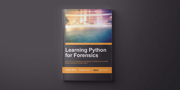 Learning Python for Forensics - Product Image