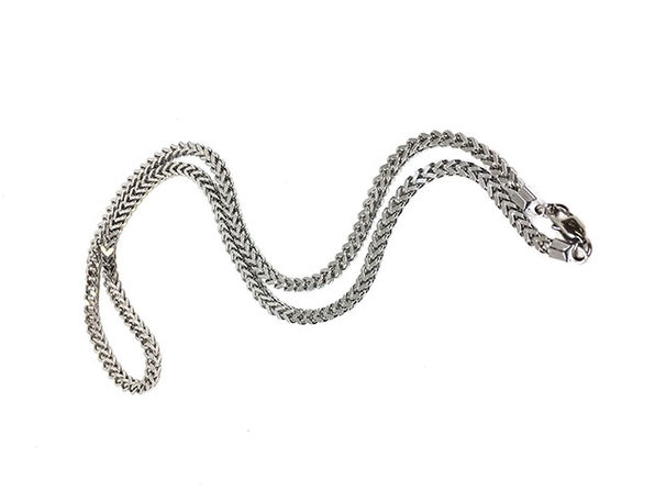 Franco Chain in Silver - Product Image