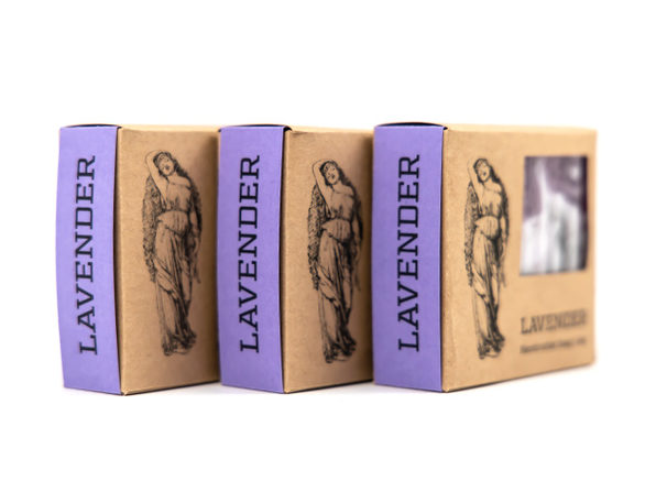 DayDream Goat Milk Soap Gift Set: 3 Pack (Lavender Aloe)