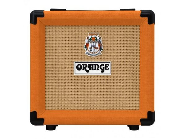 Orange Amplifiers Series PPC108 20W Closed-Back Guitar Speaker Cabinet - Orange (Like New, Damaged Retail Box)