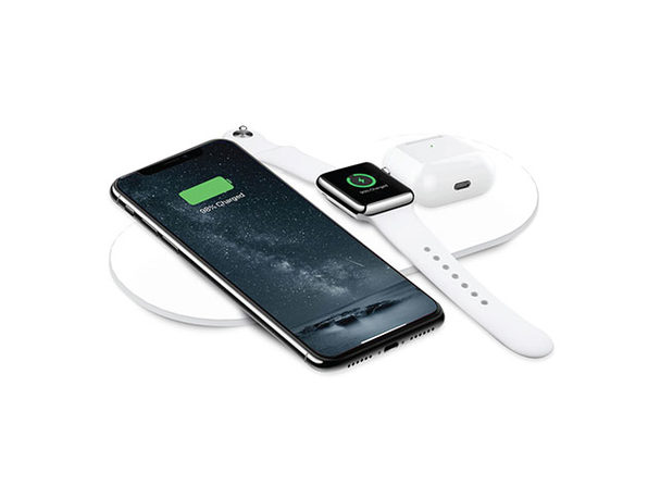 AirZeus 3-in-1 Fast Wireless Charging Pad