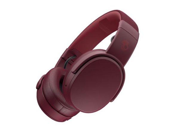 Skullcandy Crusher™ Wireless Immersive Bass Headphones (Deep Red)