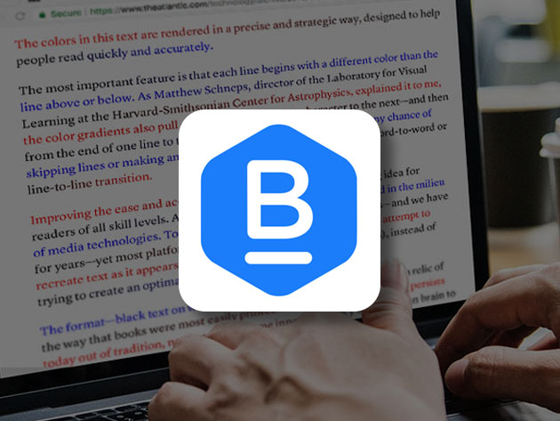 BeeLine Reader: Lifetime Subscription (5 Browsers)
