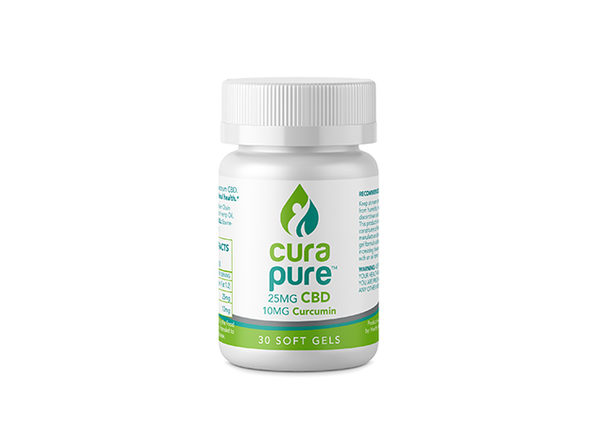 Curapure CBD Softgels (Anti-Inflammation Formula)