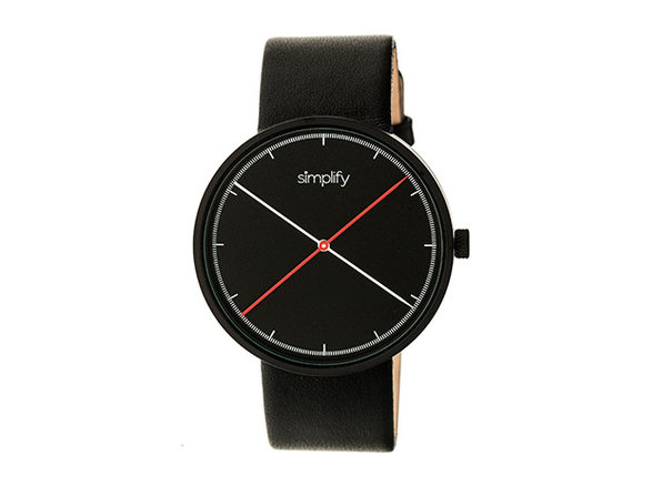 Simplify 4100 Unisex Watch (Black)