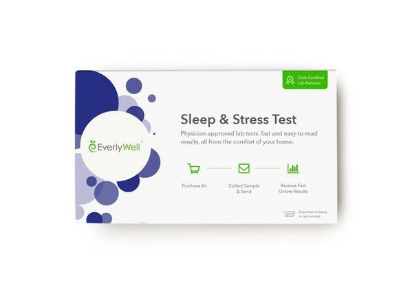EverlyWell Helping Identify Lifestyle Improvements CLIA Certified Sleep & Stress Test