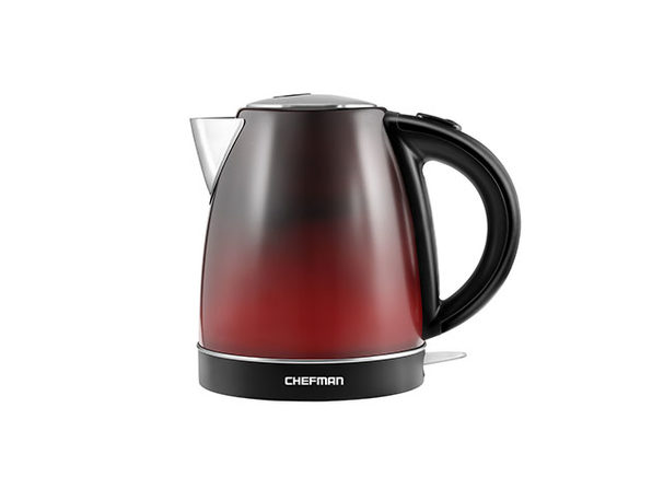 Chefman 1.7L Color-Changing Electric Kettle