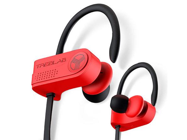 TREBLAB XR700 PRO Wireless Sports Earphones (Red)
