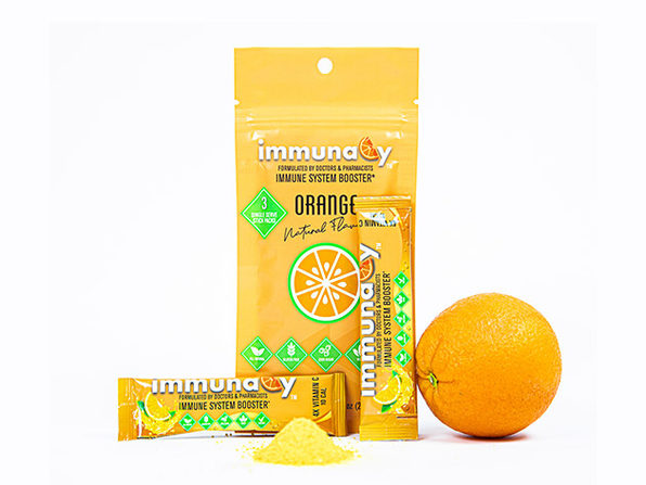 ImmunaCy: Immune-Boosting Drink Powder (4-Pack)