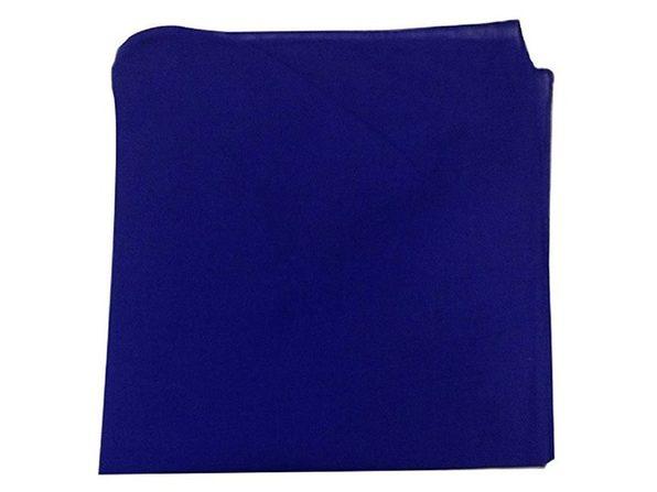 560 Pack Solid 100% Cotton Bandanas - Bulk Wholesale - Black