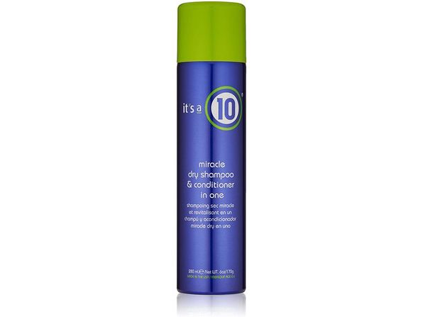 It's a 10 Haircare 47389 Miracle Dry Shampoo and Conditioner in One, 6 fl. oz. - Blue