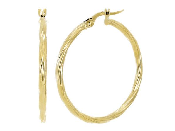 Christian Van Sant Italian 14k Yellow Gold Earrings - CVE9H83 - Product Image