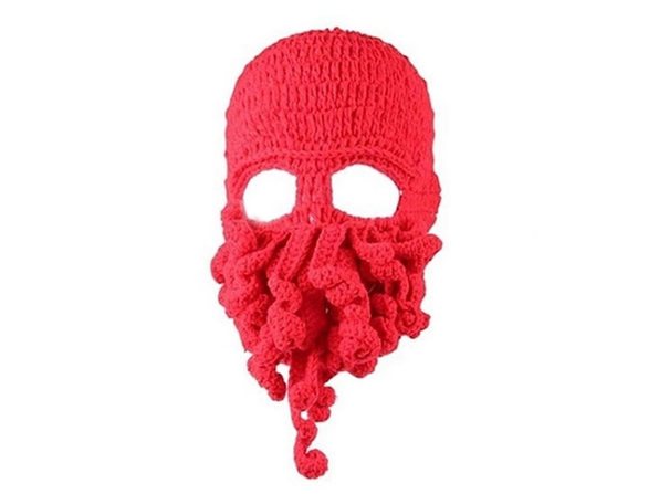 Octopus Hat - Red - Product Image