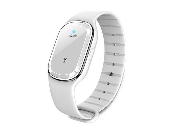 Super Shield Mosquito Repellent Electronic Watch Band (White)