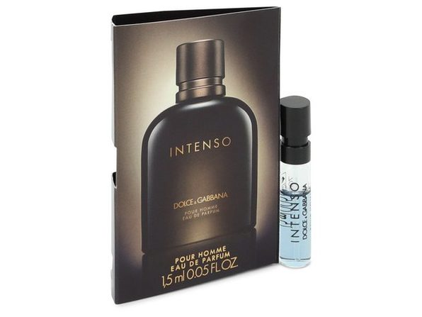 Dolce & Gabbana Intenso by Dolce & Gabbana Vial (sample) .05 oz - Product Image