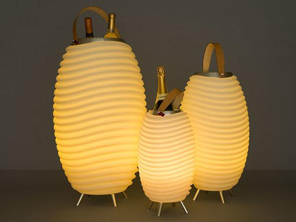 Kooduu: 3-in-1 Designer Lamp, Speaker & Cooler