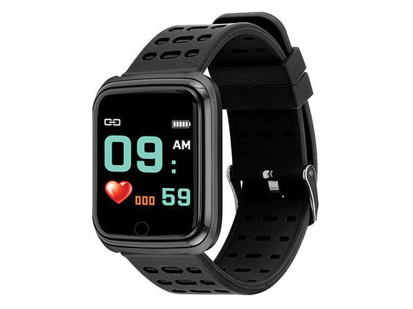 Slide Fitness Smart Watch Gunmetal - Product Image